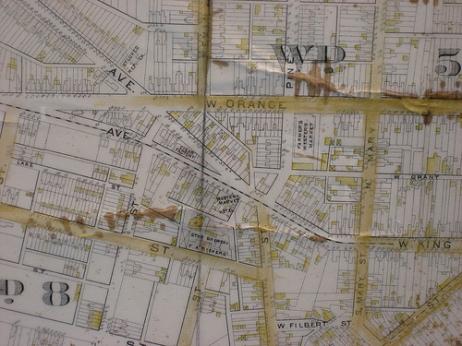 old Lancaster map