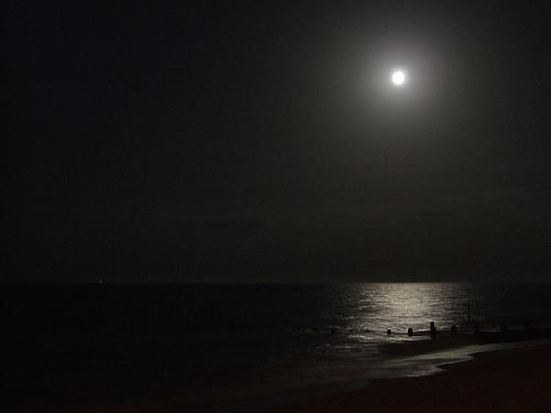 moon sea groynebeach