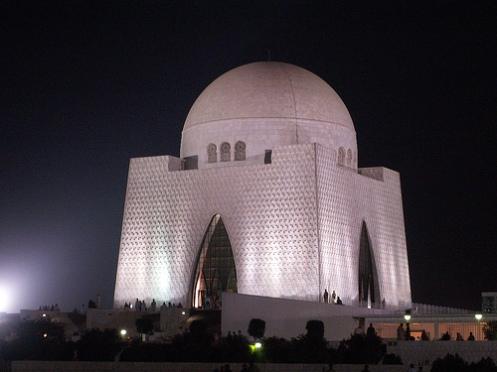 tomb of muhammad ali jinnah in karachi