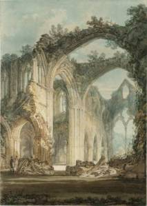 Tintern Abbey by JMW Turner, 1794