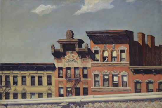 From Williamsburg Bridge (Hopper 1928)