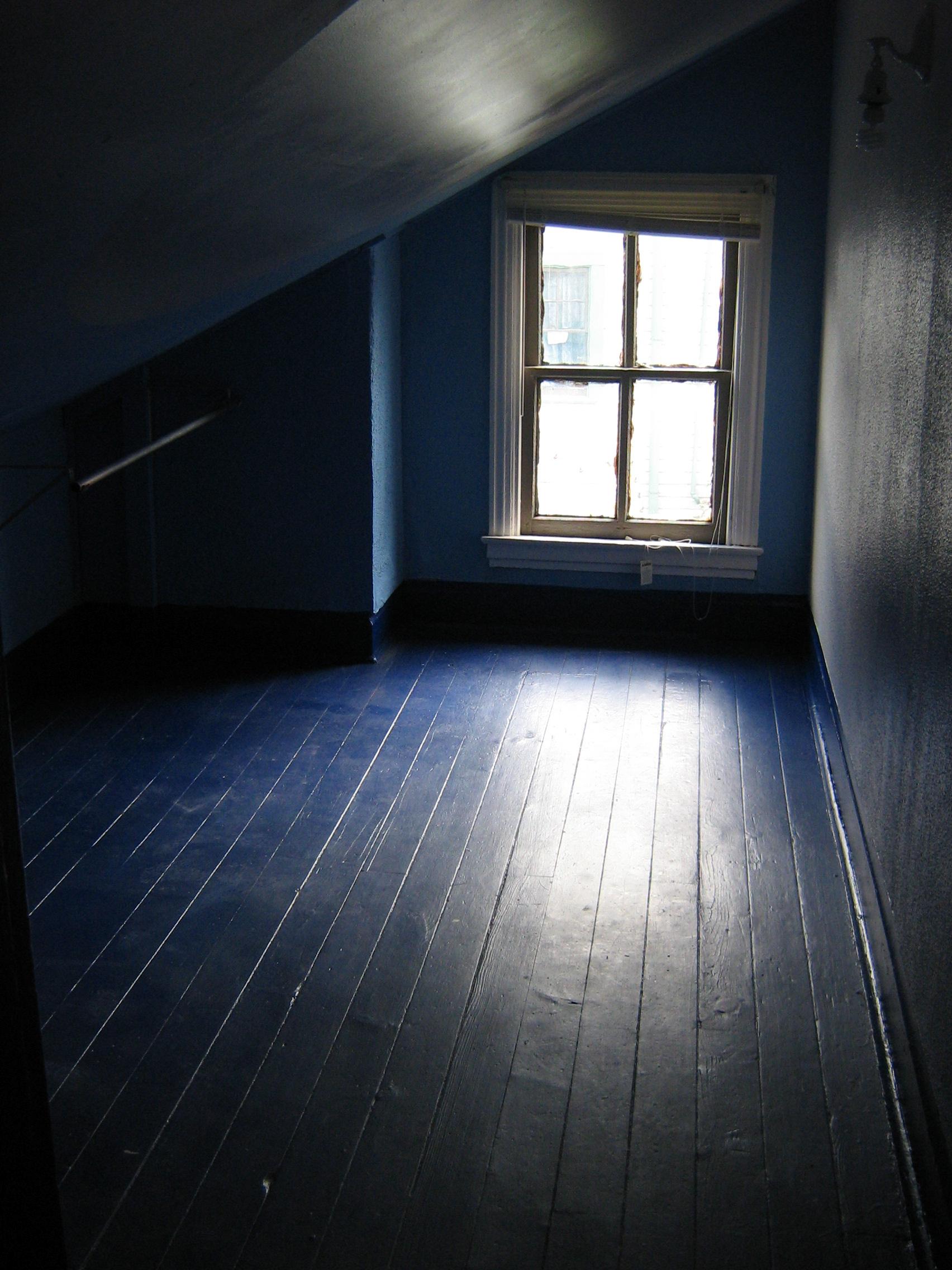 Dark Empty Room With Window
